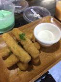 backyard eats cheese sticks