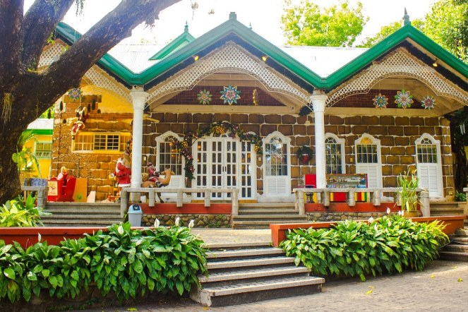 casa santa museum inside jardin de miramar in atipolo