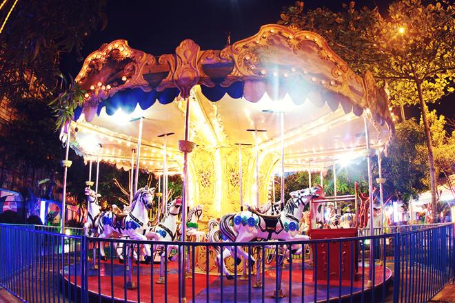 ynares antipolo tiangge and carnival rides