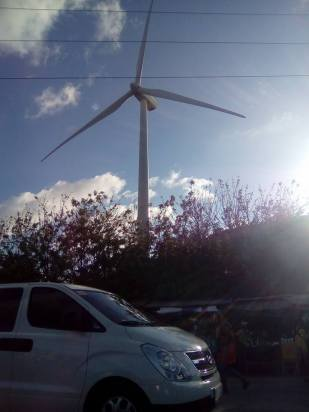 The giant windmills