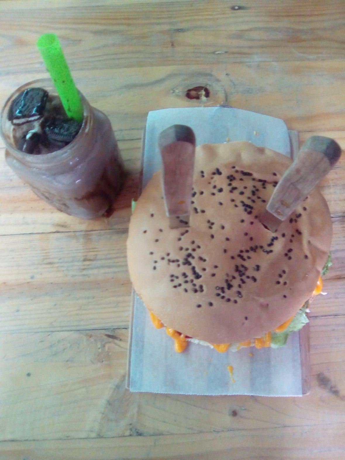 overload burger best seller
