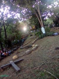 rosary garden in via dolorosa in antipolo